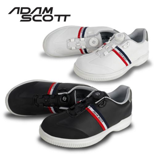 [골프야놀자]아담스콧 트리플라인 다이얼 남성골프화(신발주머니증정)