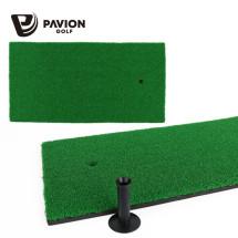 PV 골프스윙연습 셀프골프연습용 스윙매트와 전용고무티